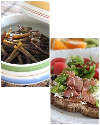 八ヶ岳の野菜と山菜でおうちごはん_c0141025_15384205.jpg