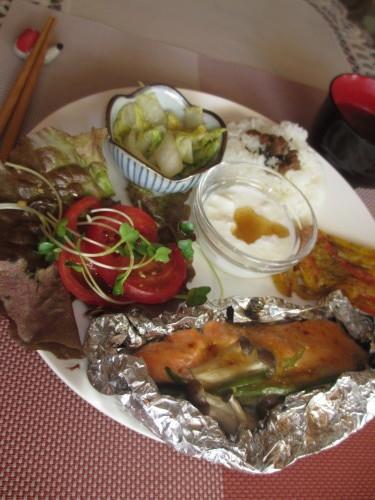 今週のメニューは美容に特化したスーパーフード『鮭』_b0340798_10225582.jpg