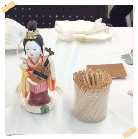 2日間短期集中講座【 創作人形講座「弁財天」】無事に終わりました。_c0357605_11020642.jpg