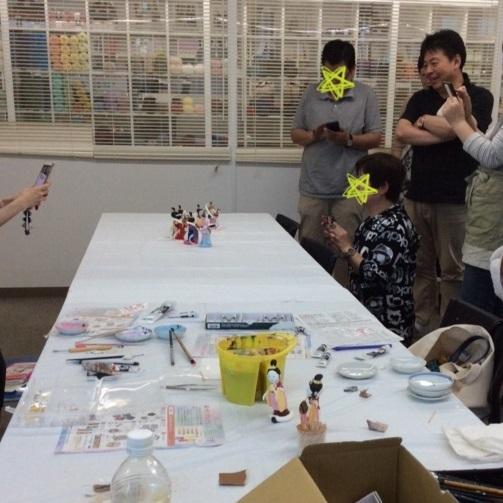 2日間短期集中講座【 創作人形講座「弁財天」】無事に終わりました。_c0357605_11021615.jpg
