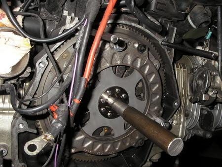 BMW R1100RT クラッチ板交換_e0218639_10571102.jpg