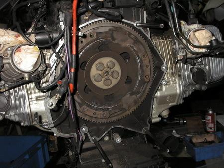 BMW R1100RT クラッチ板交換_e0218639_10571111.jpg