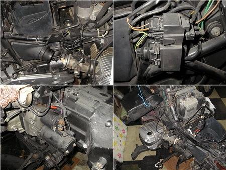 BMW R1100RT クラッチ板交換_e0218639_10571126.jpg