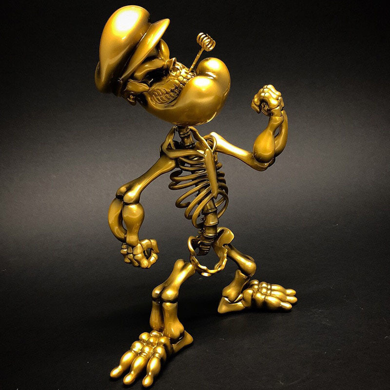 Popeye Grin Gold by Ron English_e0118156_23340016.jpg