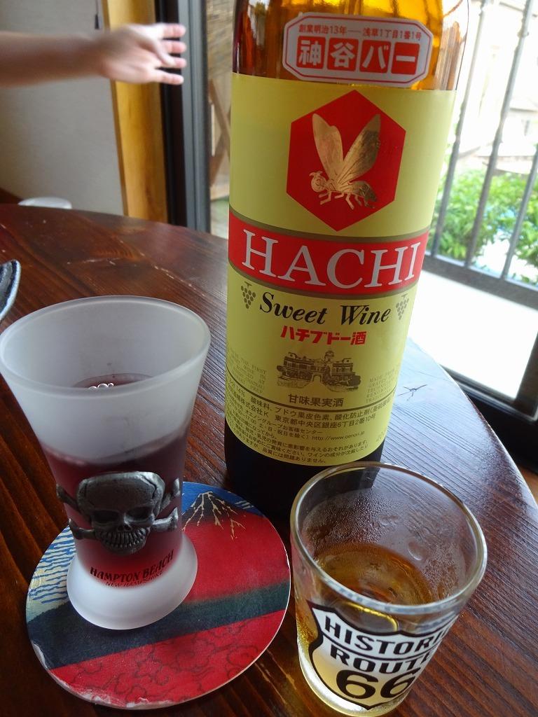 意識高い系酒 1 ちゃぶ台にハチ葡萄酒_d0061678_20142017.jpg