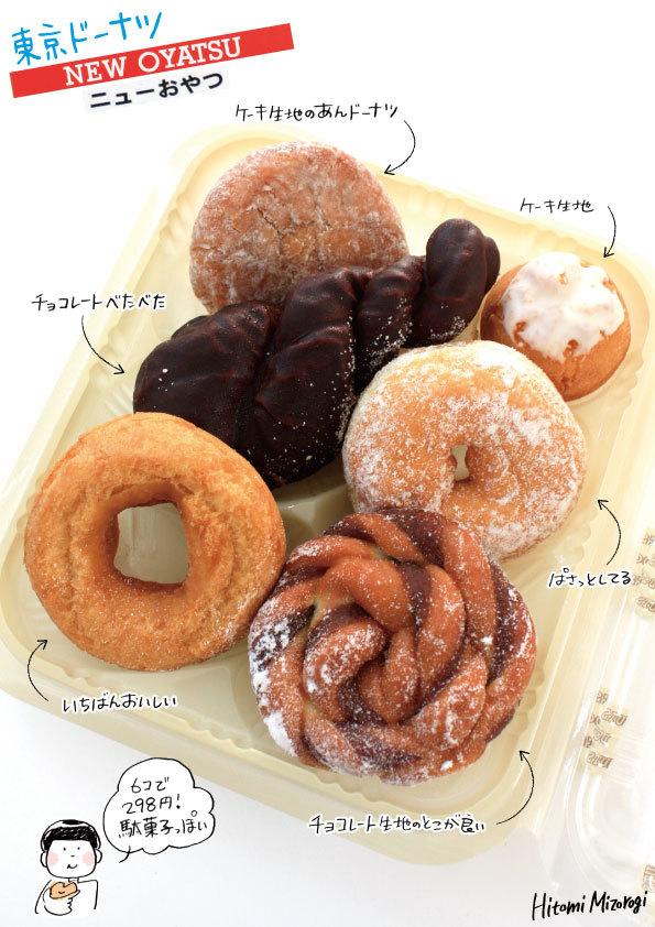 【袋ドーナツ】東京ドーナツ「ニューおやつ」【すっごく良い名前】_d0272182_12194847.jpg