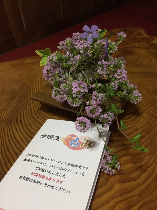 北秋田治療室オープンしました_b0093660_18200183.jpeg
