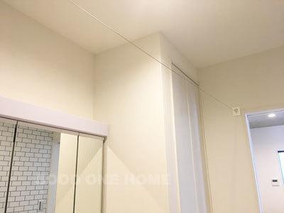 室内格納式ワイヤー物干し_e0251265_12202632.jpg