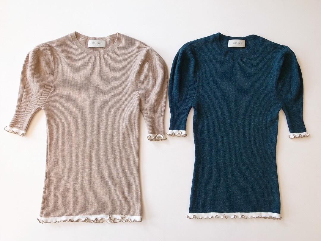 NEW ARRIVAL YUNE HO JULIA PUFF SLEEVE PULLOVER_f0111683_18034862.jpg