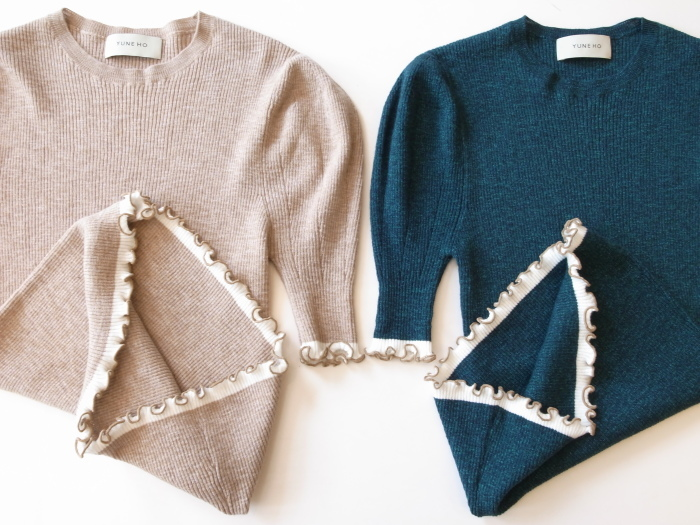 NEW ARRIVAL YUNE HO JULIA PUFF SLEEVE PULLOVER_f0111683_18042382.jpg