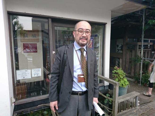 秋葉区文化会館、新館長はなんと!_e0046190_17550535.jpg