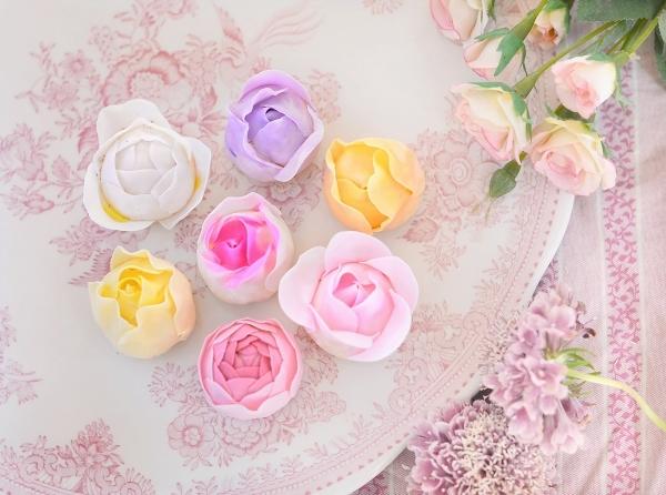 薔薇のクッキー  Homemade Rose Cookies_d0025294_12505444.jpg