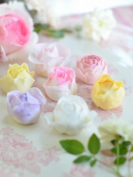 薔薇のクッキー  Homemade Rose Cookies_d0025294_12525582.jpg