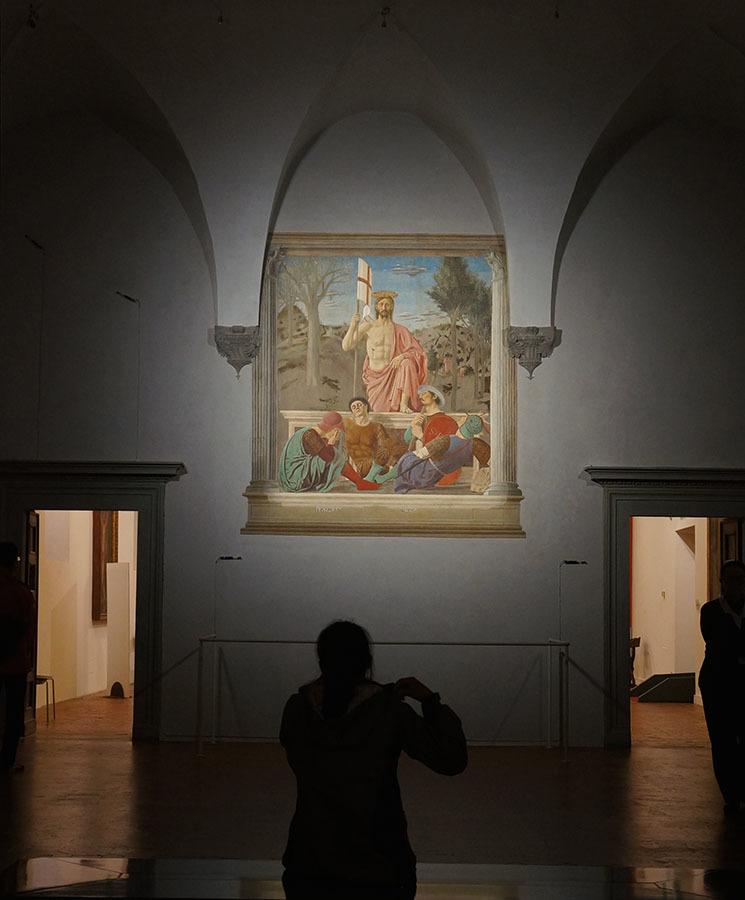 ピエロ・デッラ・フランチェスカとハーブ博物館、見所が多いサンセポルクロ_f0106597_22530935.jpg