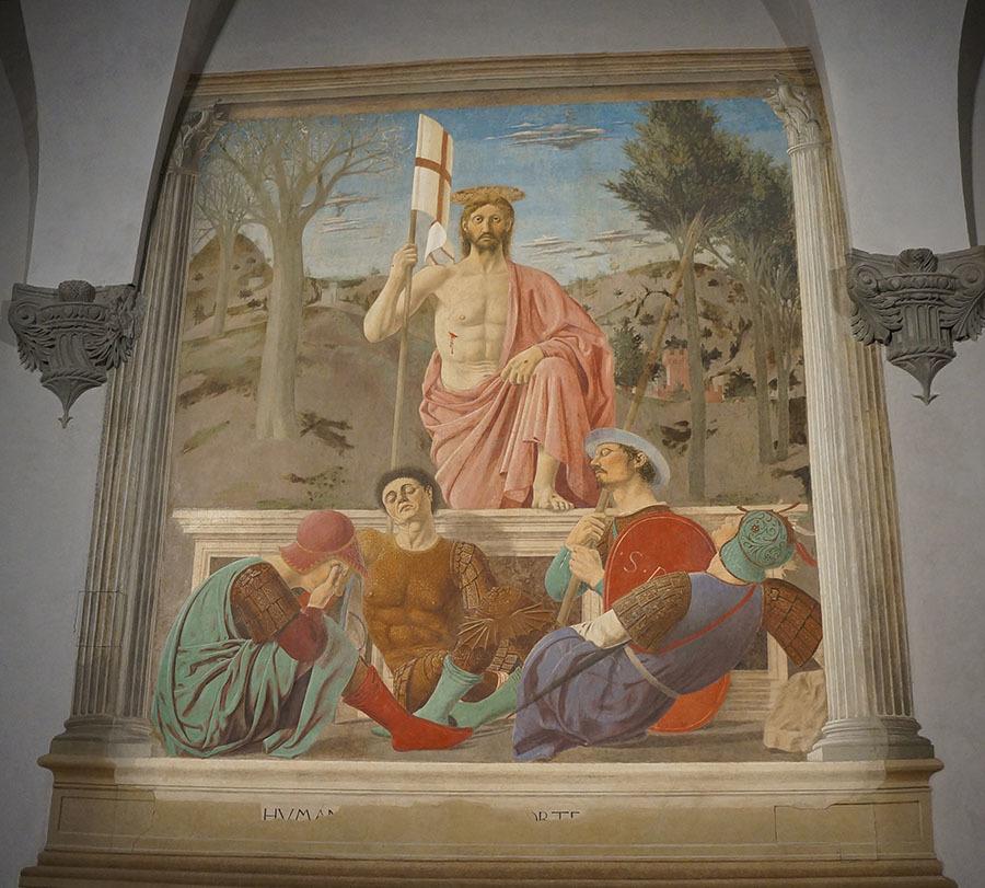 ピエロ・デッラ・フランチェスカとハーブ博物館、見所が多いサンセポルクロ_f0106597_23063896.jpg