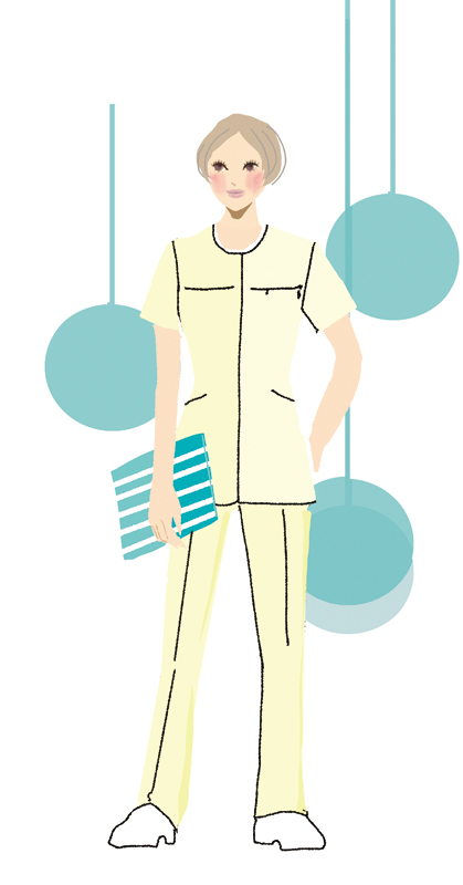医療従事者、ナースのユニフォーム_f0172313_19583597.jpg