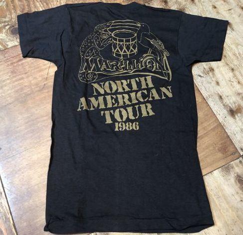5月19日(土)入荷!デッドストック 80s MARILLION  North american Tour Tシャツ!_c0144020_13264653.jpg