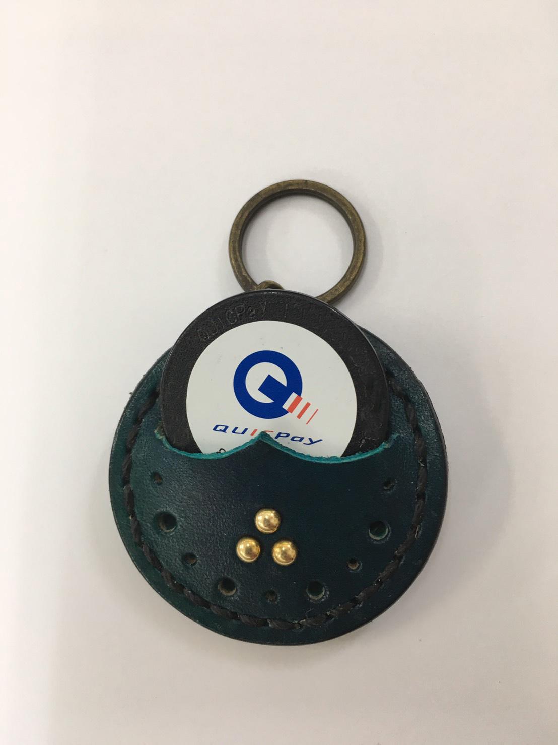Quicpay →レザーカバー_a0155932_21025167.jpg