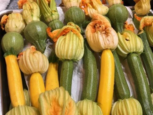 夏日 ズッキーニと蚕豆 スナップエンドウ 一気に収穫時期になっています_c0222448_13041917.jpg