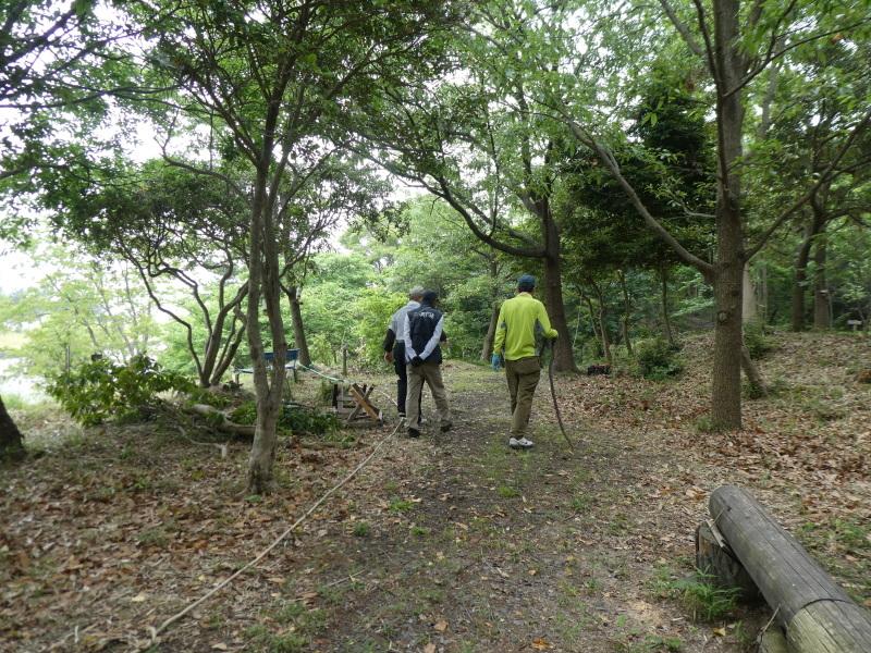 多奈川小学校1・2年生遠足 in うみべの森探検_c0108460_15503284.jpg
