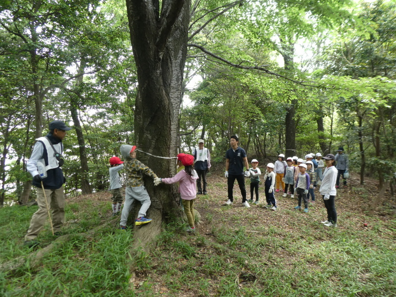 多奈川小学校1・2年生遠足 in うみべの森探検_c0108460_15564569.jpg