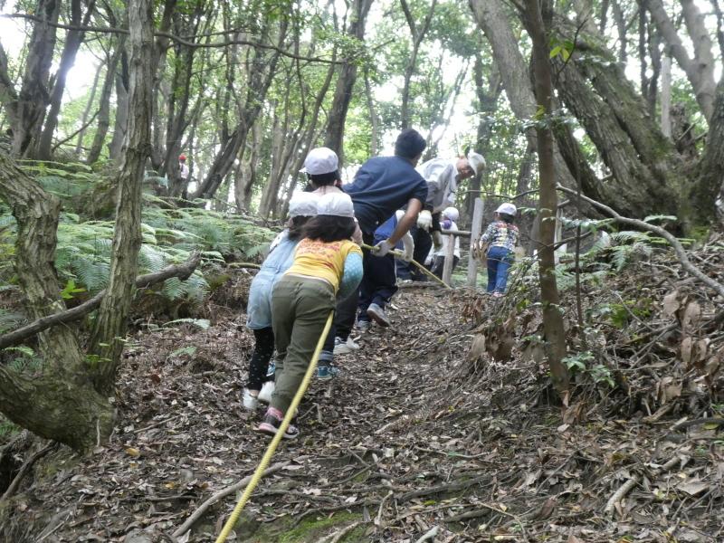 多奈川小学校1・2年生遠足 in うみべの森探検_c0108460_16055899.jpg