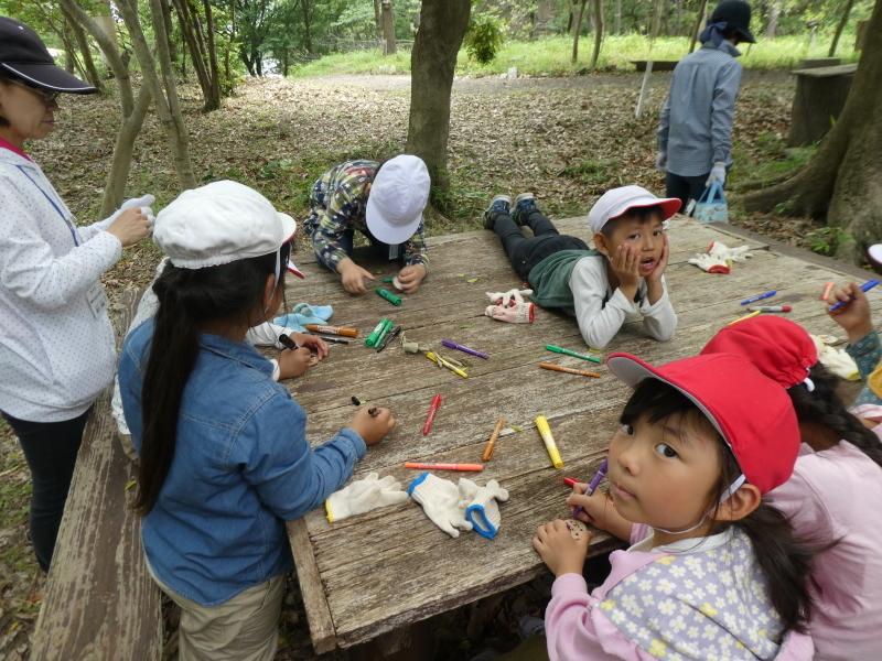 多奈川小学校1・2年生遠足 in うみべの森探検_c0108460_16145075.jpg