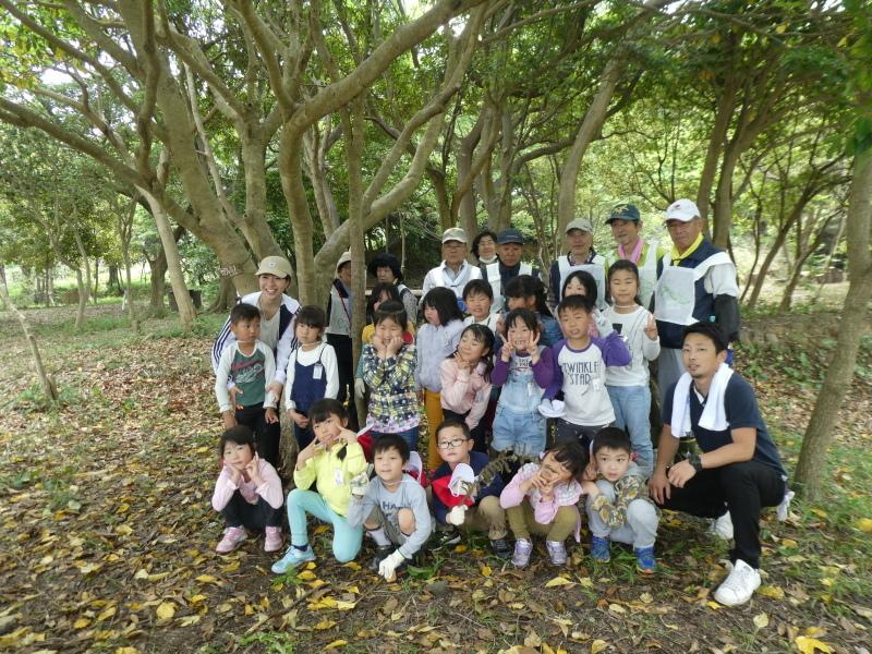 多奈川小学校1・2年生遠足 in うみべの森探検_c0108460_16304037.jpg