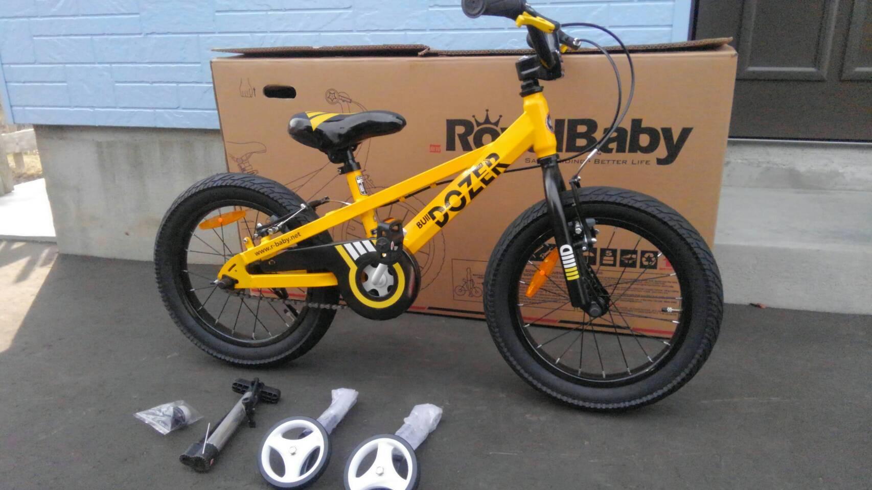 札幌市清田区 かっこいい!BMX風子ども自転車(^^)BULL DOZER_a0216771_10140221.jpg