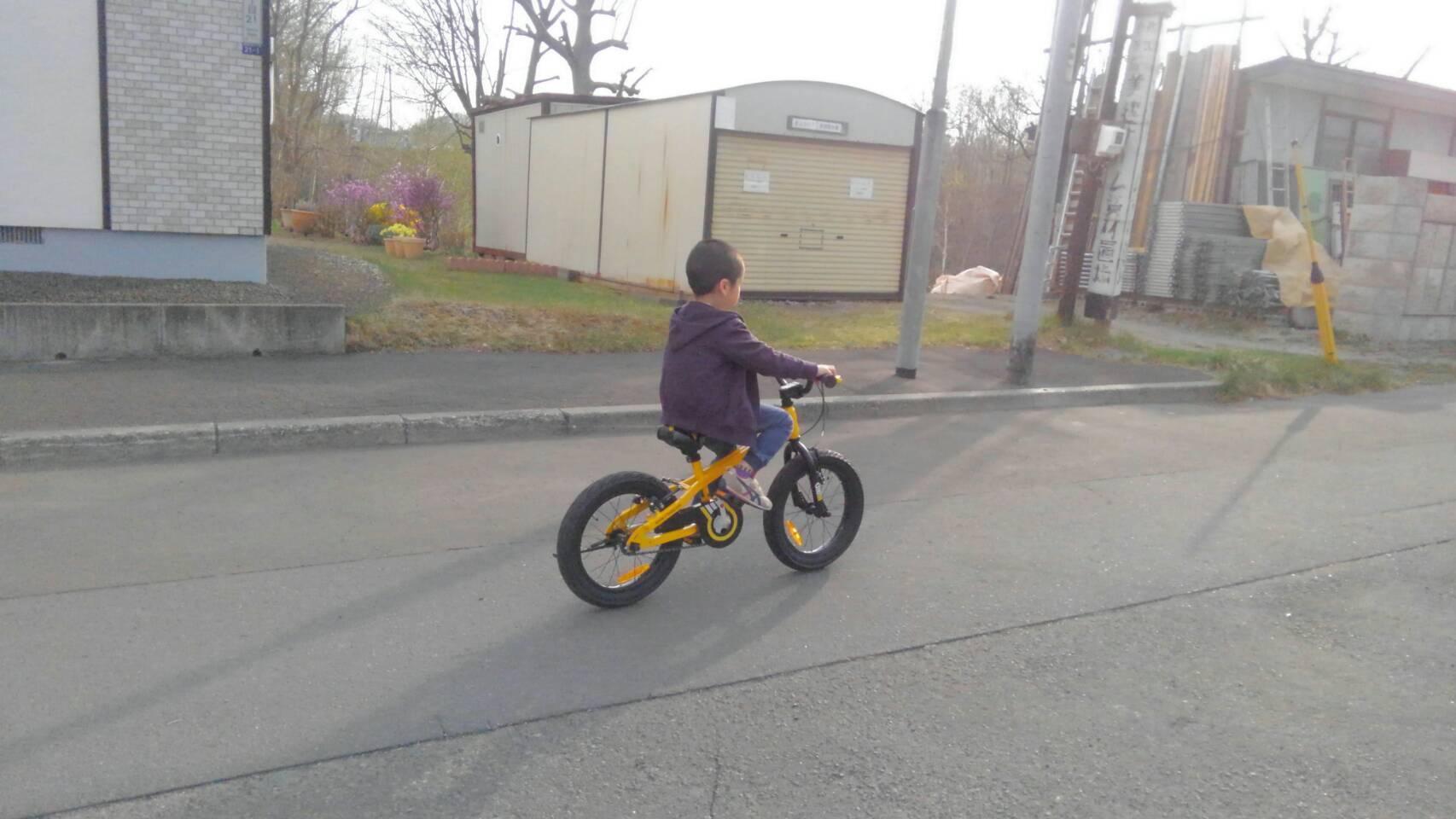 札幌市清田区 かっこいい!BMX風子ども自転車(^^)BULL DOZER_a0216771_10142359.jpg