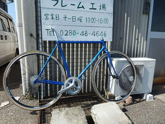 自転車通勤 !!_e0378686_15421089.jpg