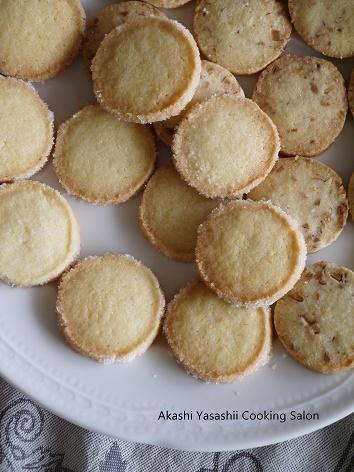 バタークッキーとアーモンドクッキー_f0361692_12412672.jpg
