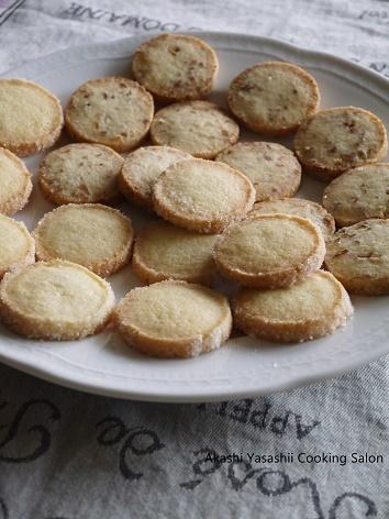 バタークッキーとアーモンドクッキー_f0361692_12423018.jpg