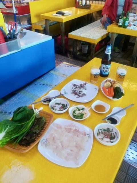 ウヨンのふるさと釜山旅⑦ 〜チャガルチ市場でヒラメとタコに惚れる〜_e0126009_07350720.jpg