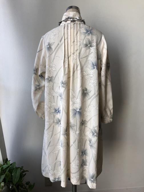 着物リメイク・絽のお着物からピンタックワンピース_d0127925_12334960.jpg