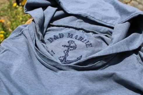 もうすぐ再入荷!ストレッチ9分袖フード付きTシャツ♪ _d0108933_12185683.jpg