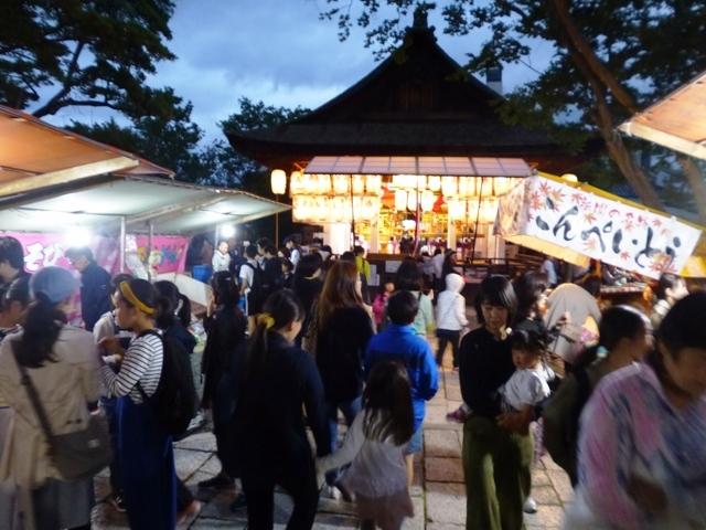 下御霊神社の還幸祭 宵宮の夜_e0230141_20294506.jpg