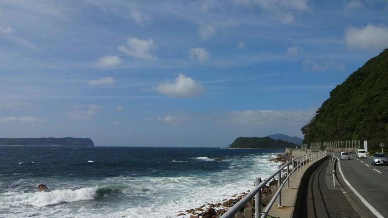 28日目【川棚温泉−益田】か風が強かった!_e0201281_22254516.jpg