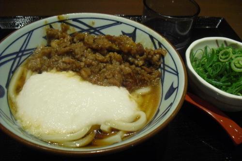 丸亀製麺 『牛とろろうどん』_a0326295_00371865.jpg