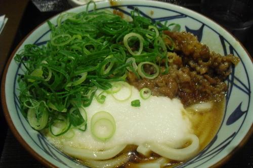 丸亀製麺 『牛とろろうどん』_a0326295_00373374.jpg