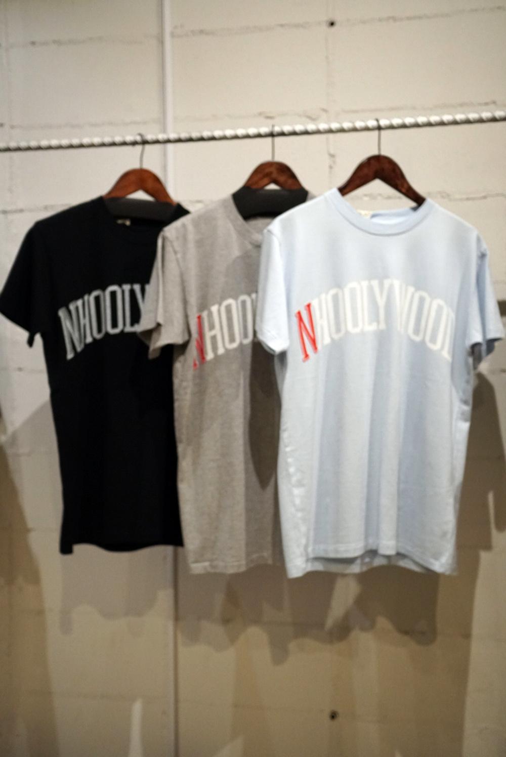 ロゴ T-シャツ -N\'HOOLYWOOD-_a0155932_21581102.jpg