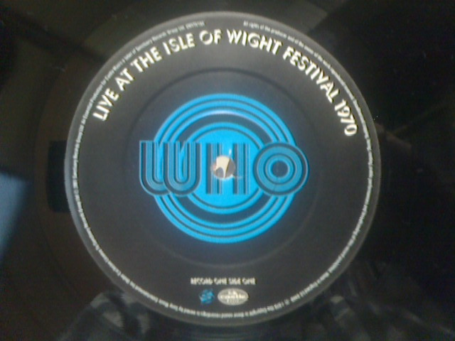 Live At The Isle Of Wight Festival 1970 / The Who_c0104445_16493651.jpg