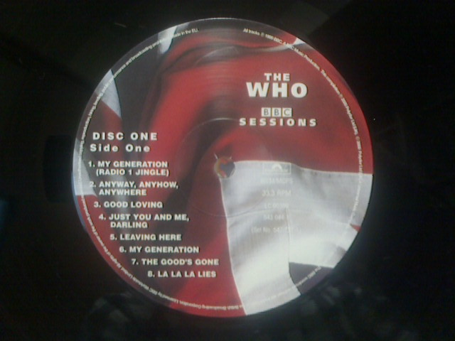 BBC Sessions / The Who_c0104445_16534820.jpg