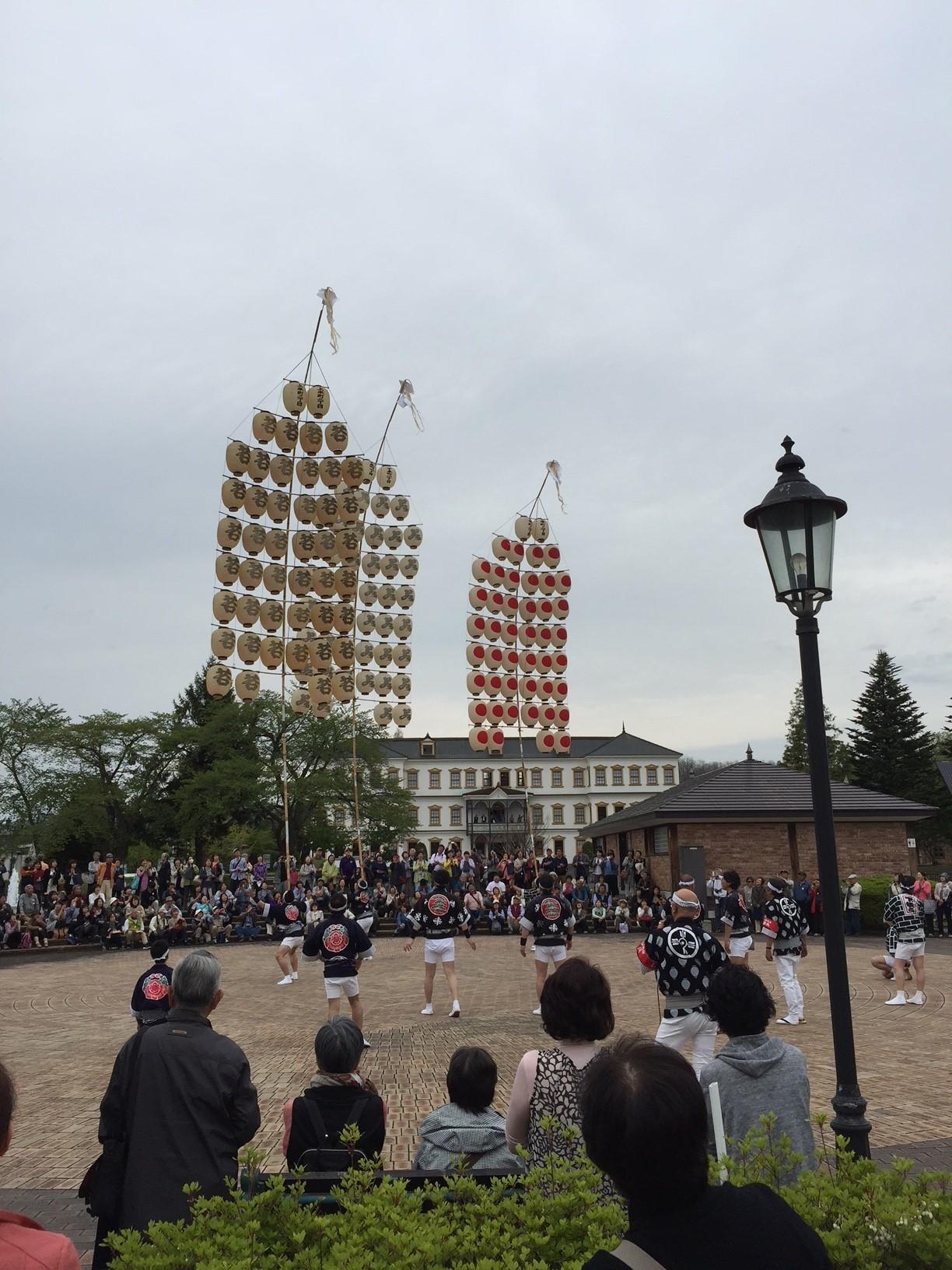 東北祭りIN康楽館_f0079071_13165039.jpg