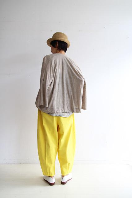 檸檬色のコクーンパンツ_f0215708_15464976.jpg