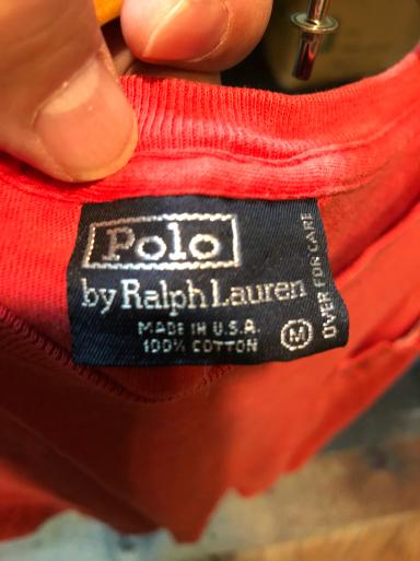 アメリカ製ラルフローレン ポケットT_c0144020_13380844.jpg