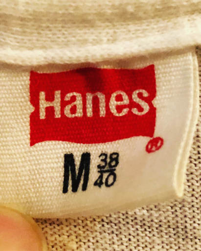 70s デッドストック Hanes V ネック Tシャツ_c0144020_13395768.jpg