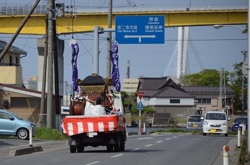 櫛引八幡宮 御浜入り_c0299631_22140601.jpg