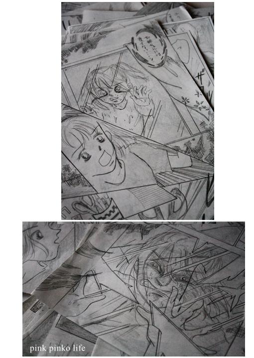 セリアDIY☆TVドラマのセットから着想「ダイヤ型フレームミラー」_d0351435_05475676.jpg
