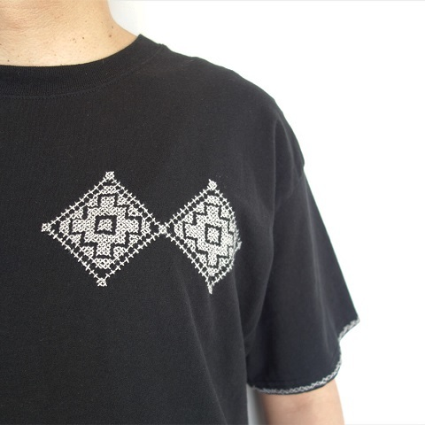 "OAXACA : T Shirts ""Cross Stitch""_a0234452_19255881.jpg"